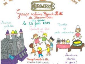 KERMESSE GROUPE SCOLAIRE FRANCIS HALLÉ LE 23/06