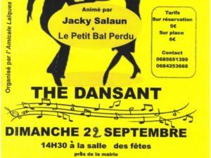 THE DANSANT 22/09/19